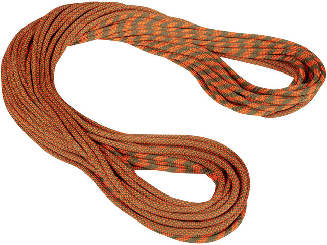 Mammut 9.5 Crag Dry Rope 80m boa-safety orange